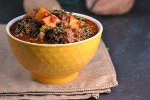 Paleo Sweet Potato and Kale Chili {Whole30}
