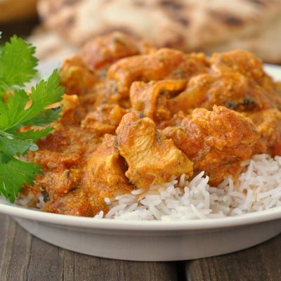 Chicken Tikka Masala + Weekly Menu