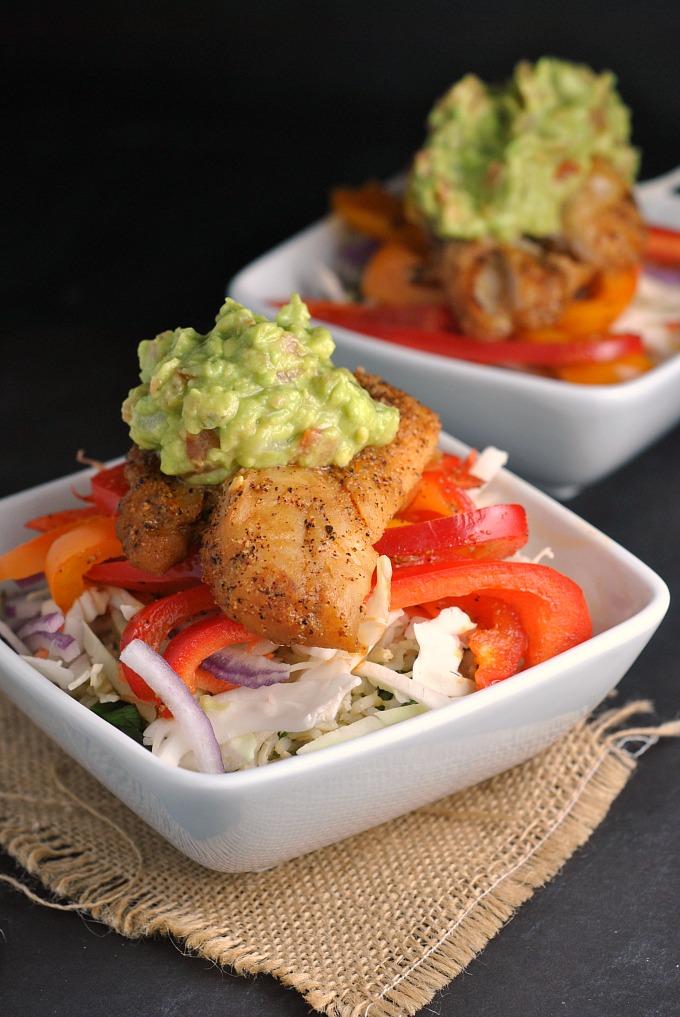 Fish taco bowls for Taco bell fish tacos