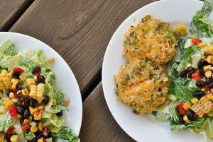 Broccoli, Cheddar, Brown Rice Cakes
