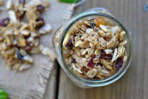 {Recipe Repeat} Sweet & Salty Olive Oil Granola Clusters + Weekly Menu