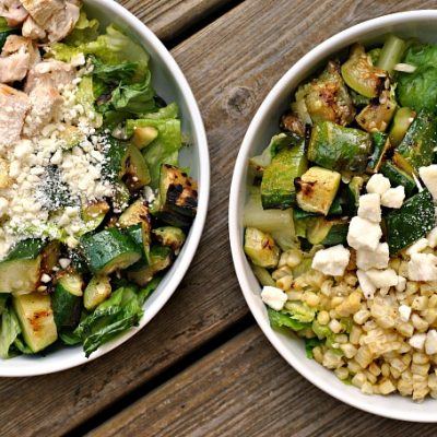 Grilled Summer Vegetable Chopped Salad