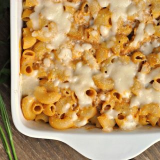 Chicken Pumpkin Pasta Bake + Weekly Menu