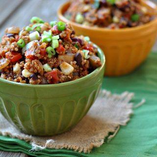8th Annual Chili Contest: Entry #2 – Chipotle Quinoa Chili