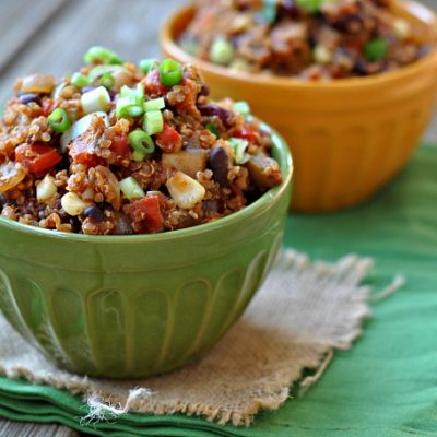 8th Annual Chili Contest: Entry #2 – Chipotle Quinoa Chili