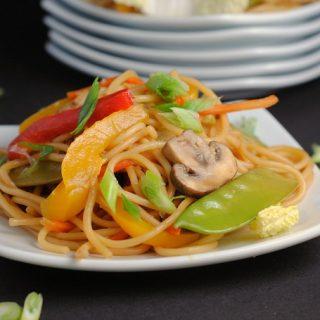 Teriyaki Noodle Stir-Fry
