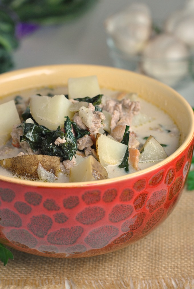 Lightened Up Olive Garden Zuppa Toscana