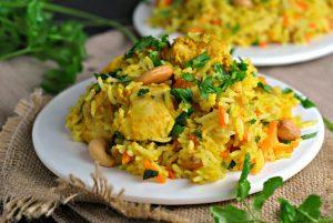Chicken Biryani + Weekly Menu