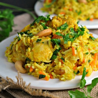 Chicken Biryani + Weekly Menu