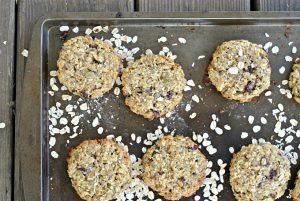Cranberry-Seed Breakfast Cookies