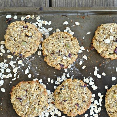 Cranberry-Seed Breakfast Cookies