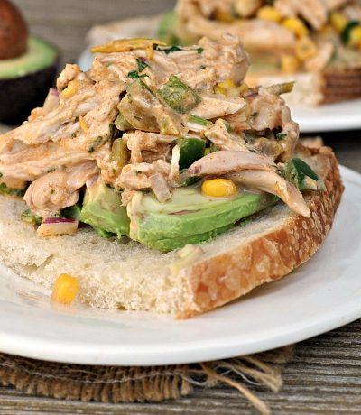 Mexican Chicken Salad + Weekly Menu