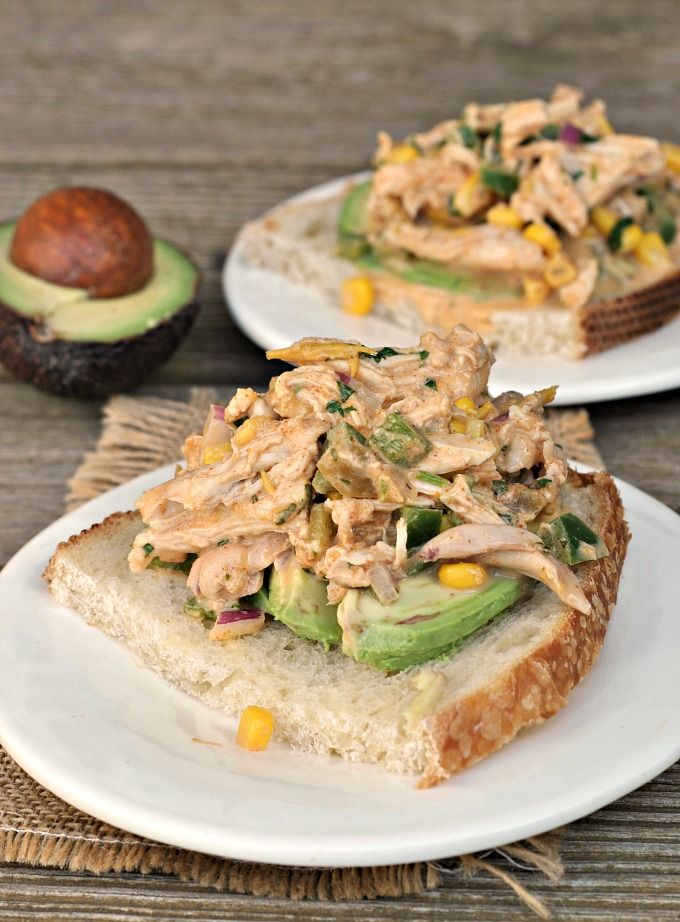 Mexican Chicken Salad Weekly Menu Prevention Rd