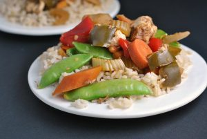 Kung Pao Chicken {Slow Cooker}