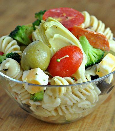Mom's Perfect Pasta Salad