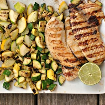 Tilapia and Summer Squash Tacos + Weekly Menu