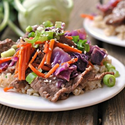 Beef and Cabbage Stir-Fry + Weekly Menu