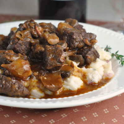 Beef Bourguignon + Weekly Menu
