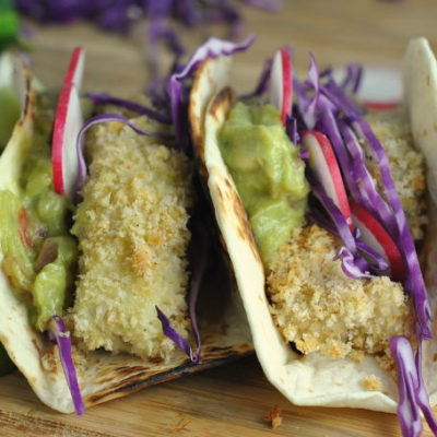 Crispy Beach Fish Tacos + Weekly Menu