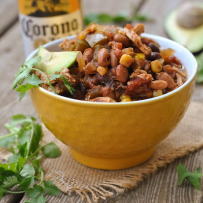 Slow Cooker Summer Chili + Weekly Menu