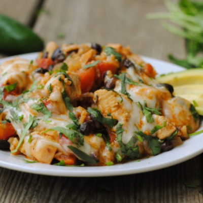Chicken Burrito Skillet + Weekly Menu