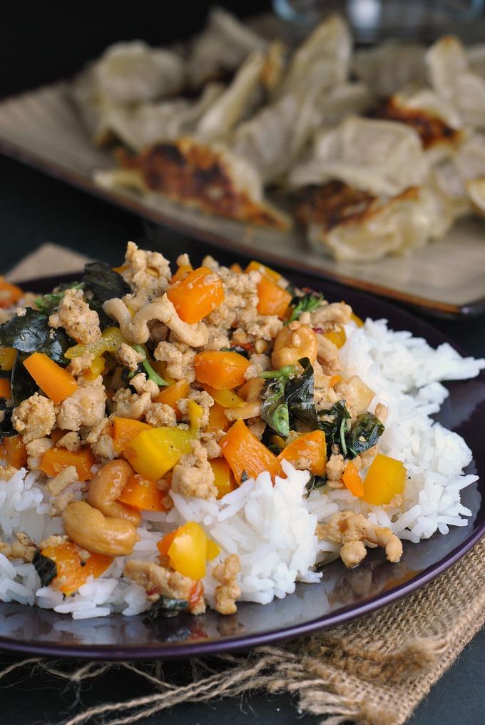 Sweet Thai Basil Chicken via @preventionrd