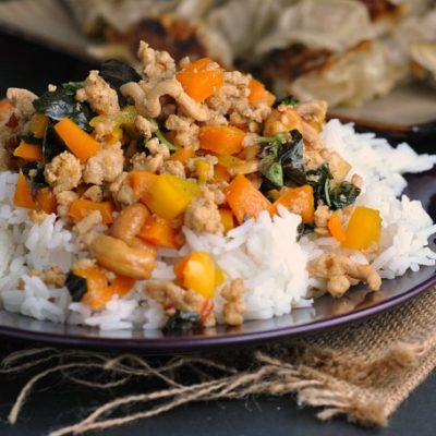 Sweet Thai Basil Chicken + Weekly Menu