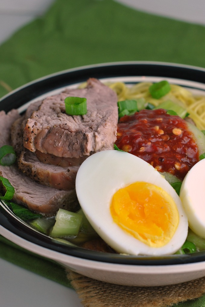 Easy Pork Ramen via @preventionrd