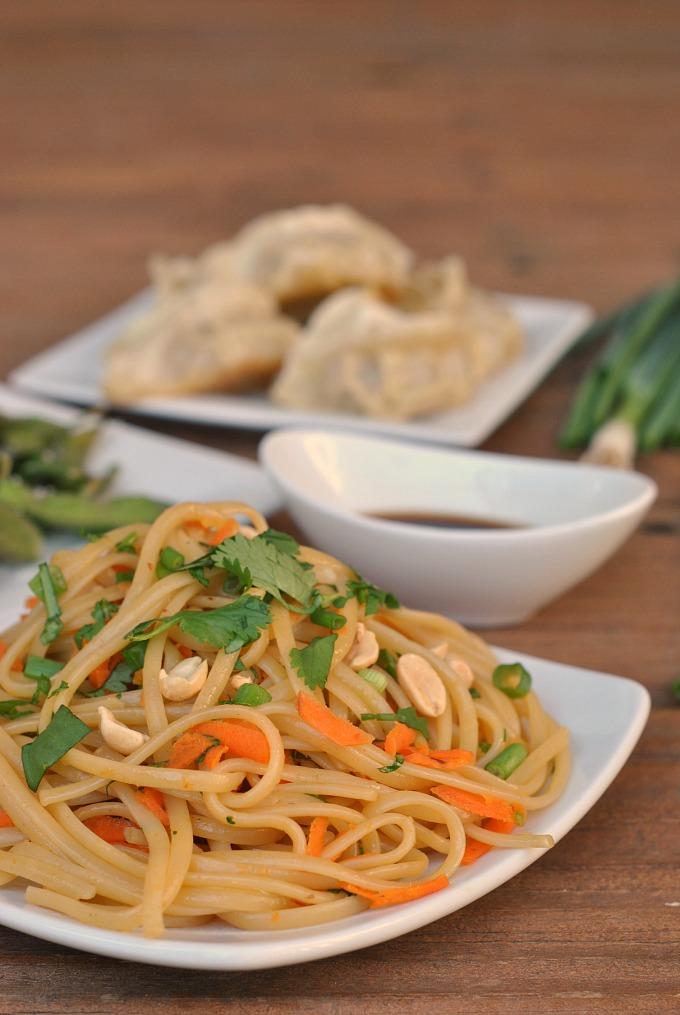 20 Minute Spicy Thai Noodles via @preventionrd