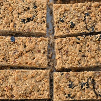 To-Go Breakfast Bars {Vegan, Gluten-Free}