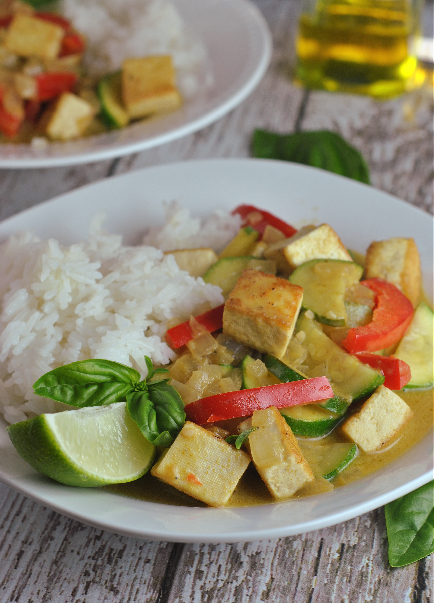 30-Minute Thai Green Curry Tofu via @preventionrd