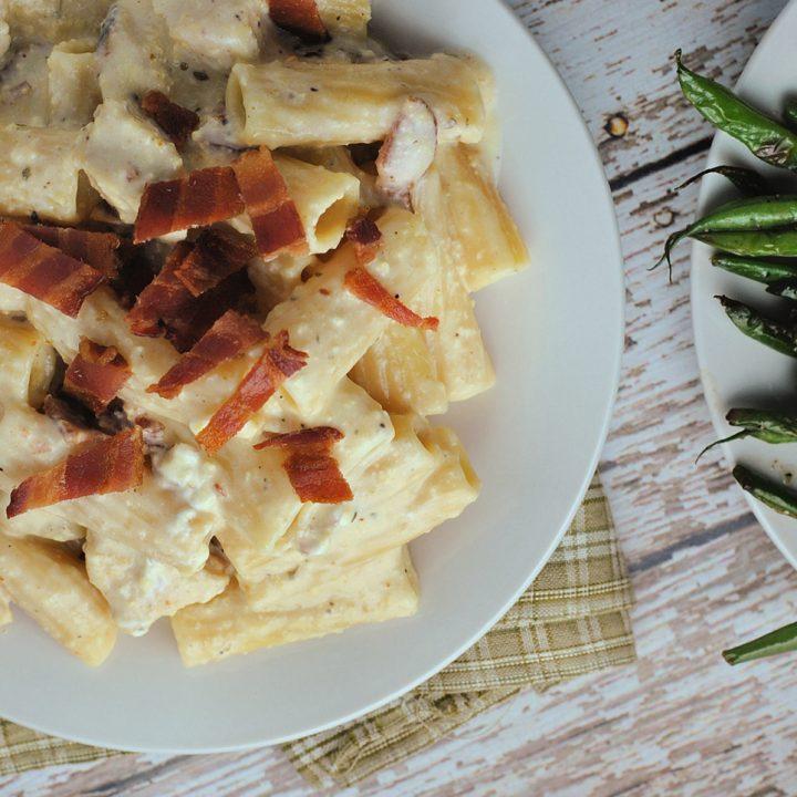 Instant Pot Ranch Chicken Pasta