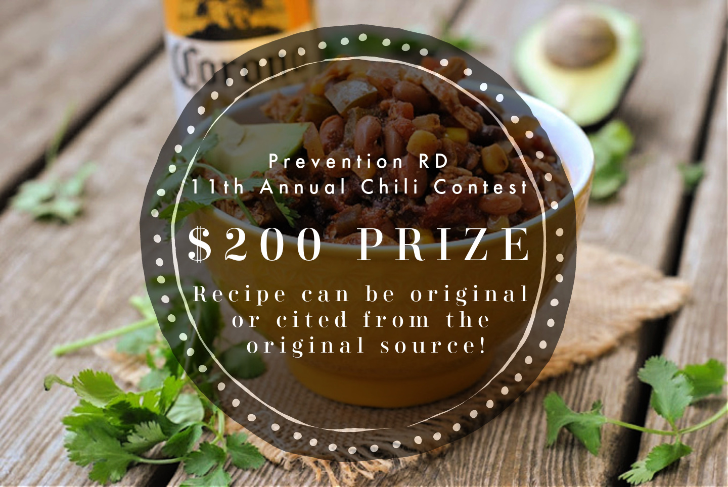 11th Annual Chili Contest — Now Accepting Entries! via @preventionrd