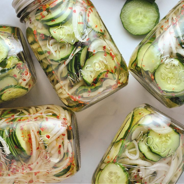 Cucumber Freezer Pickles