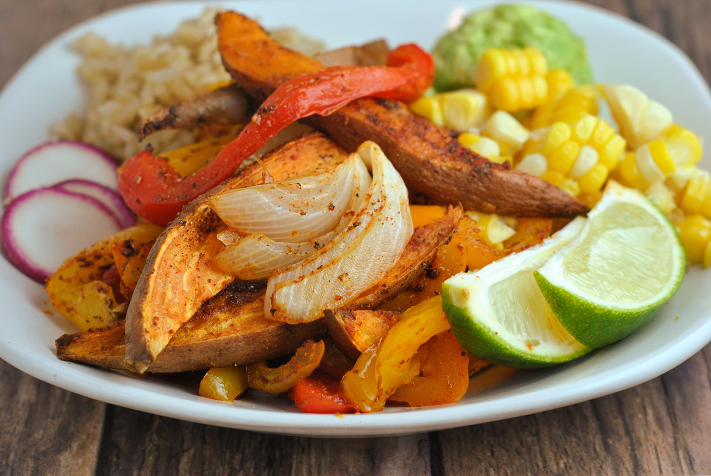 Sweet Potato Fajitas via @preventionrd