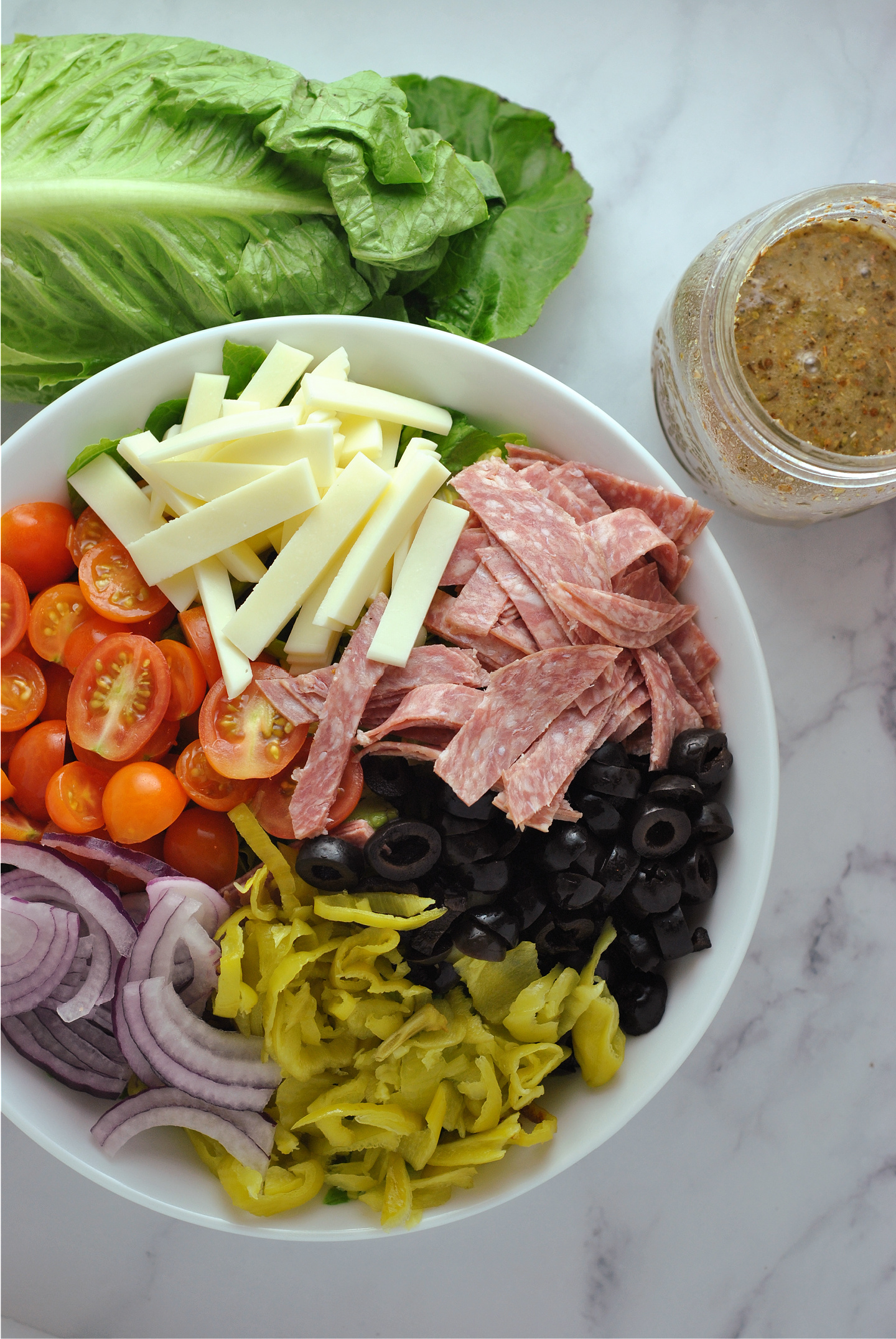 Chopped Italian Salad via @preventionrd