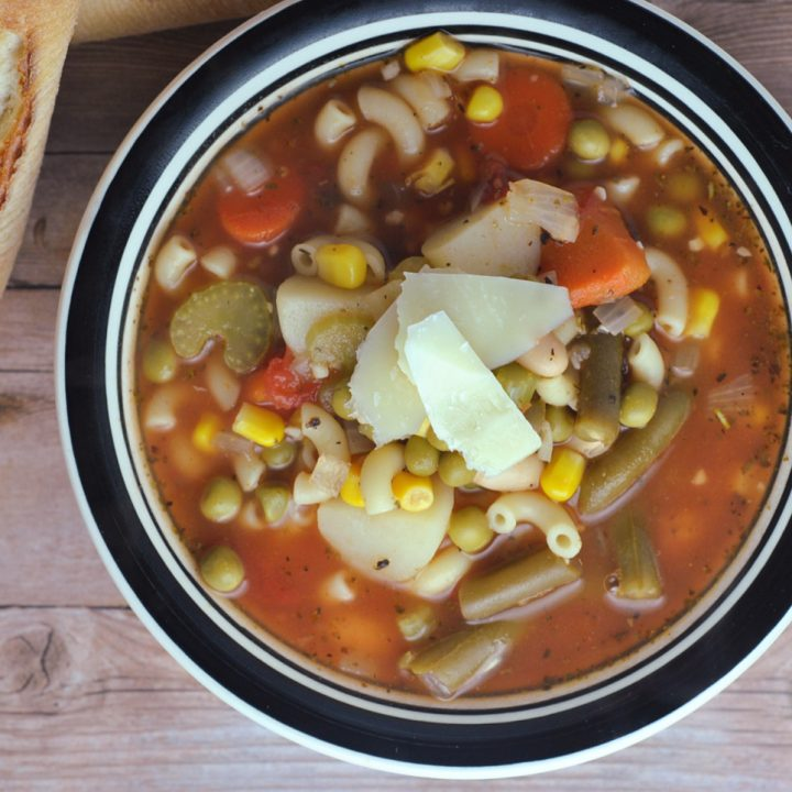 20 Minute Minestrone