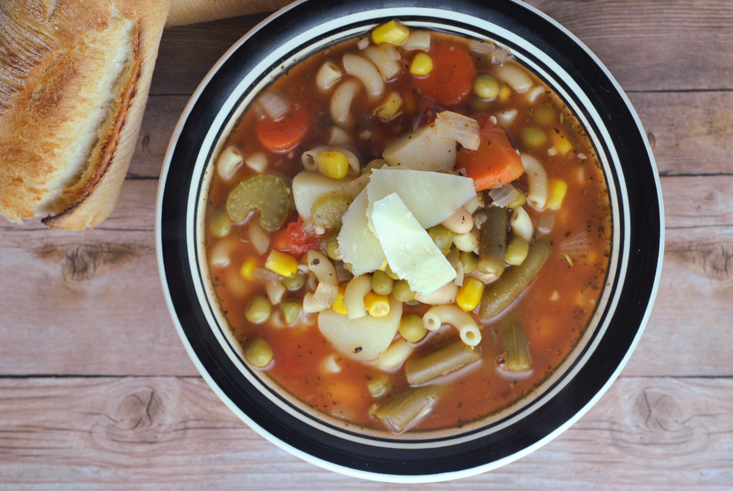 20 Minute Minestrone. #CansForComfort via @preventionrd