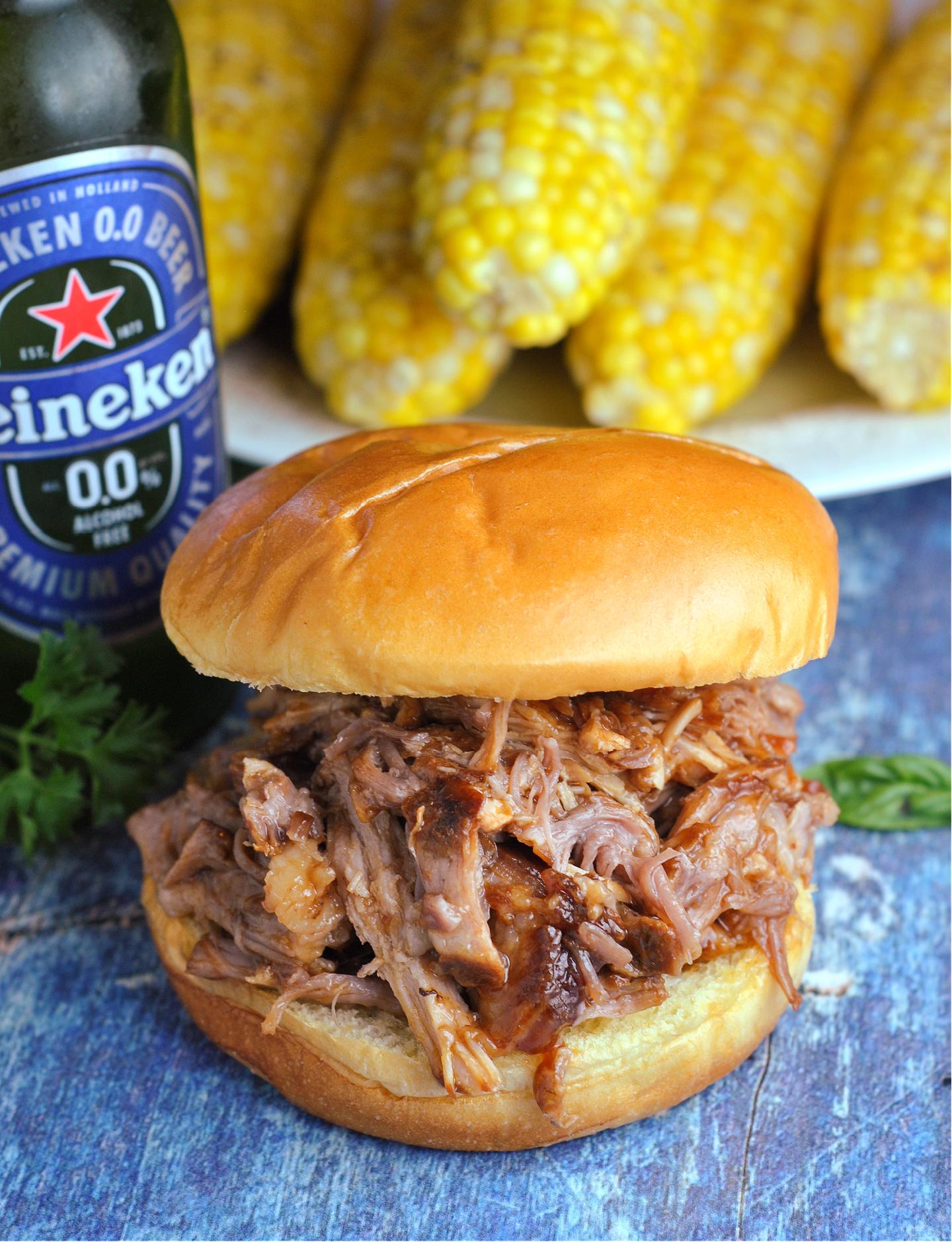 Instant Pot BBQ Pulled Pork via @preventionrd
