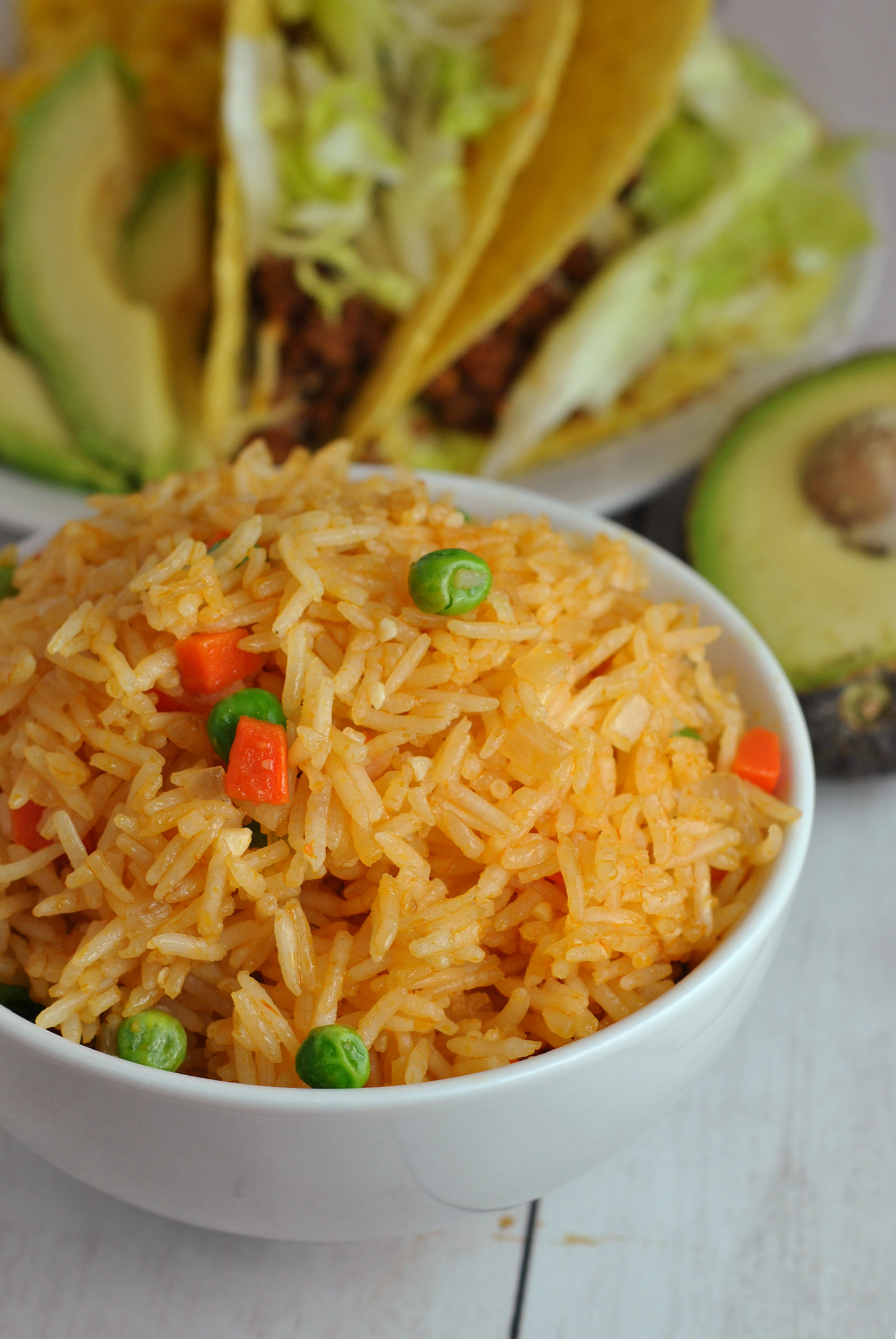 Instant Pot Mexican Rice via @preventionrd