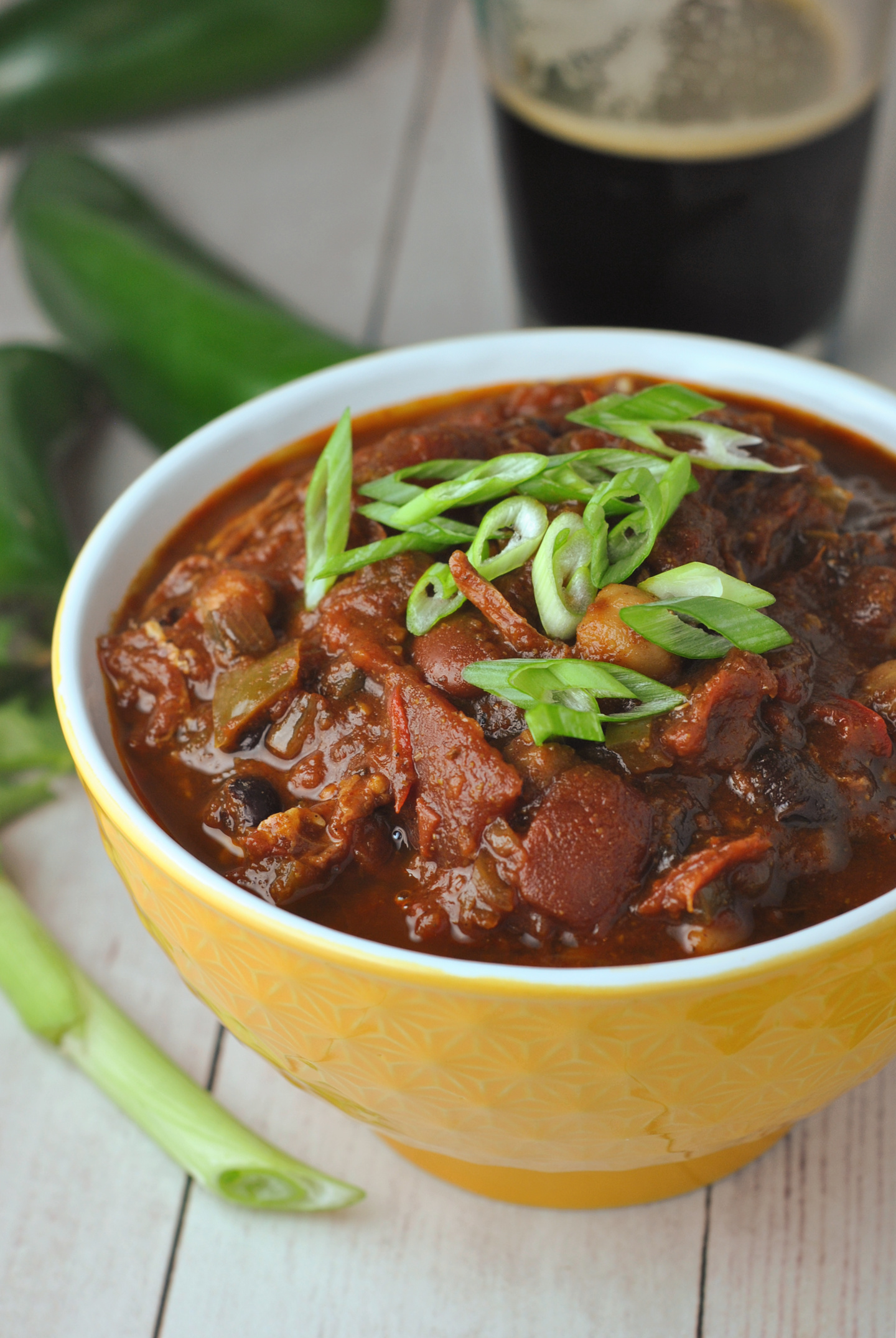 Slow-Cooked Brisket Chili via @preventionrd