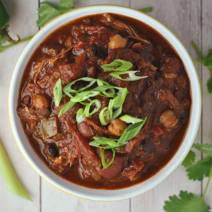 Slow-Cooked Brisket Chili