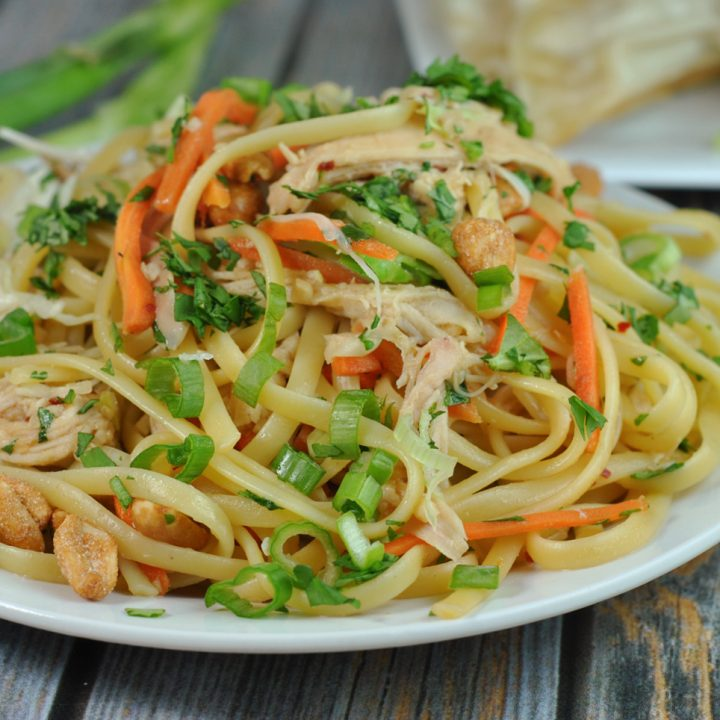 Easy Thai Noodles with Chicken