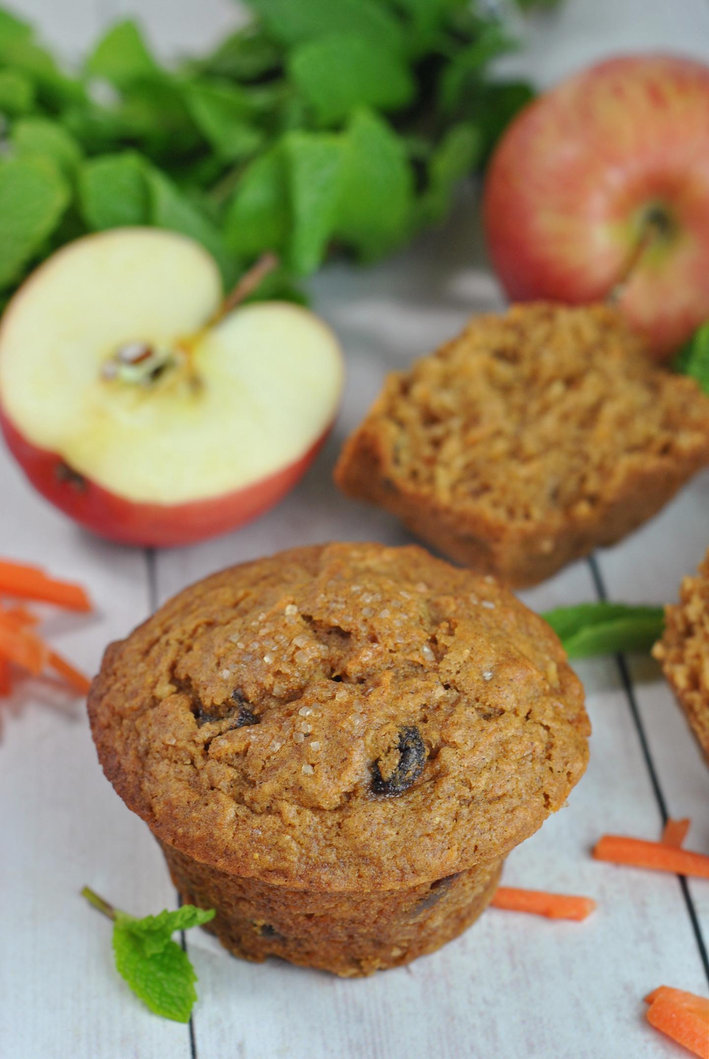 Morning Glory Muffins via @preventionrd