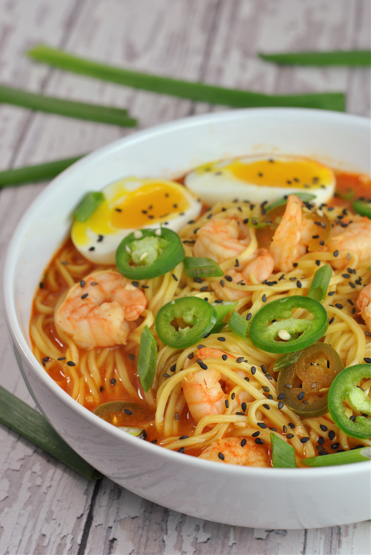 Spicy Ramen Noodles via @preventionrd