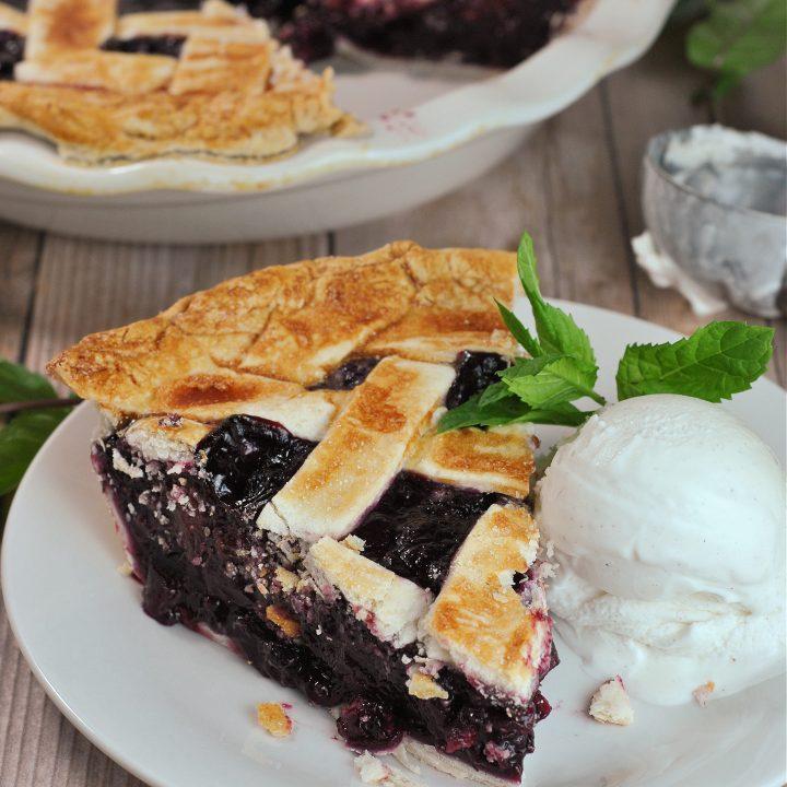 Easy Triple Berry Pie