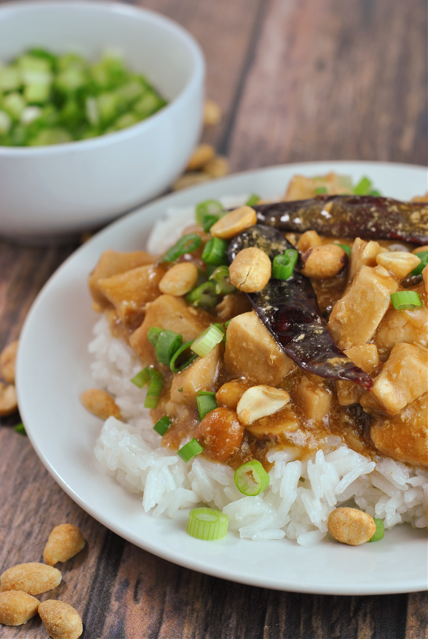 Instant Pot Kung Pao Chicken via @preventionrd