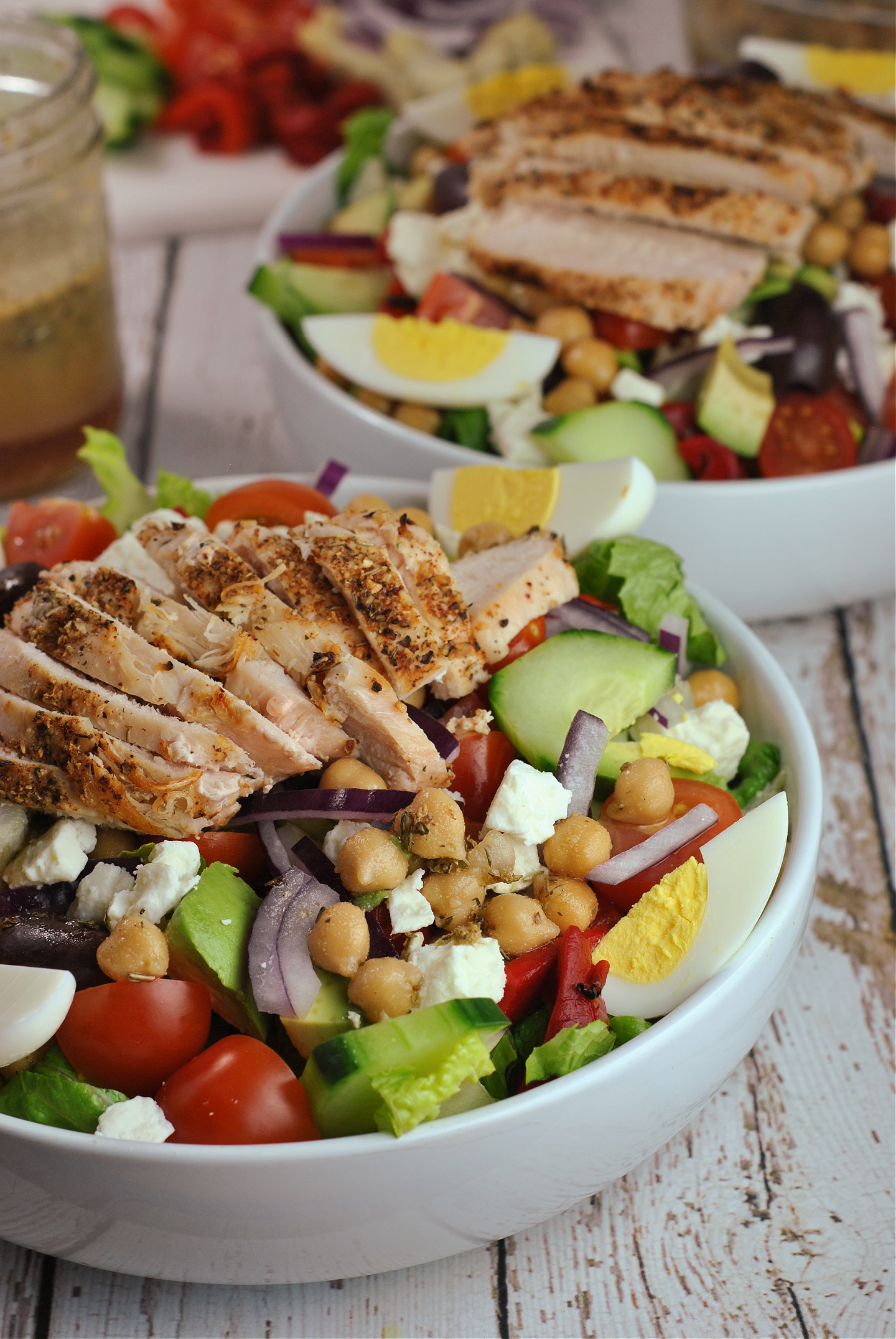 Greek Cobb Salad via @preventionrd