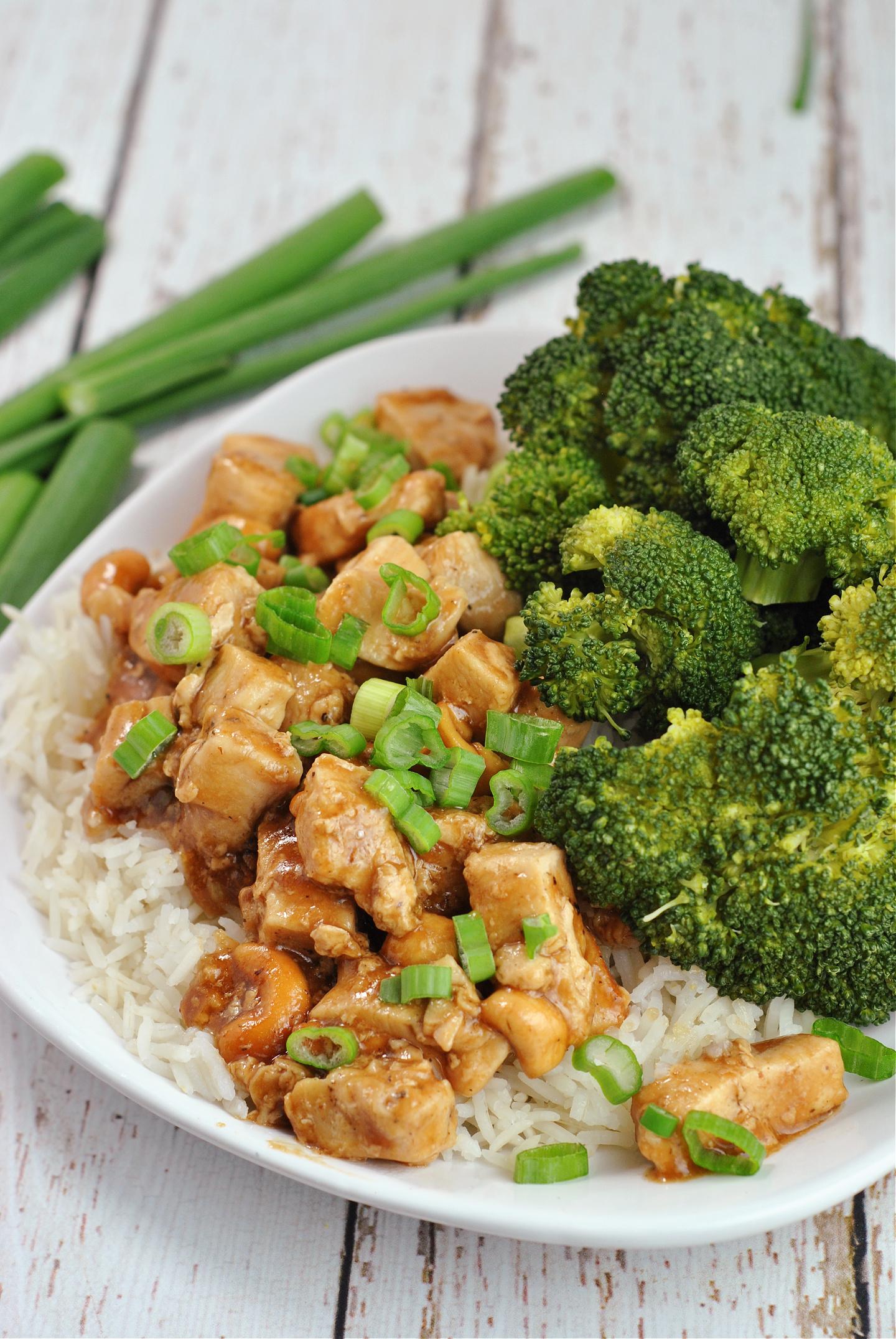 Cashew Chicken via @preventionrd