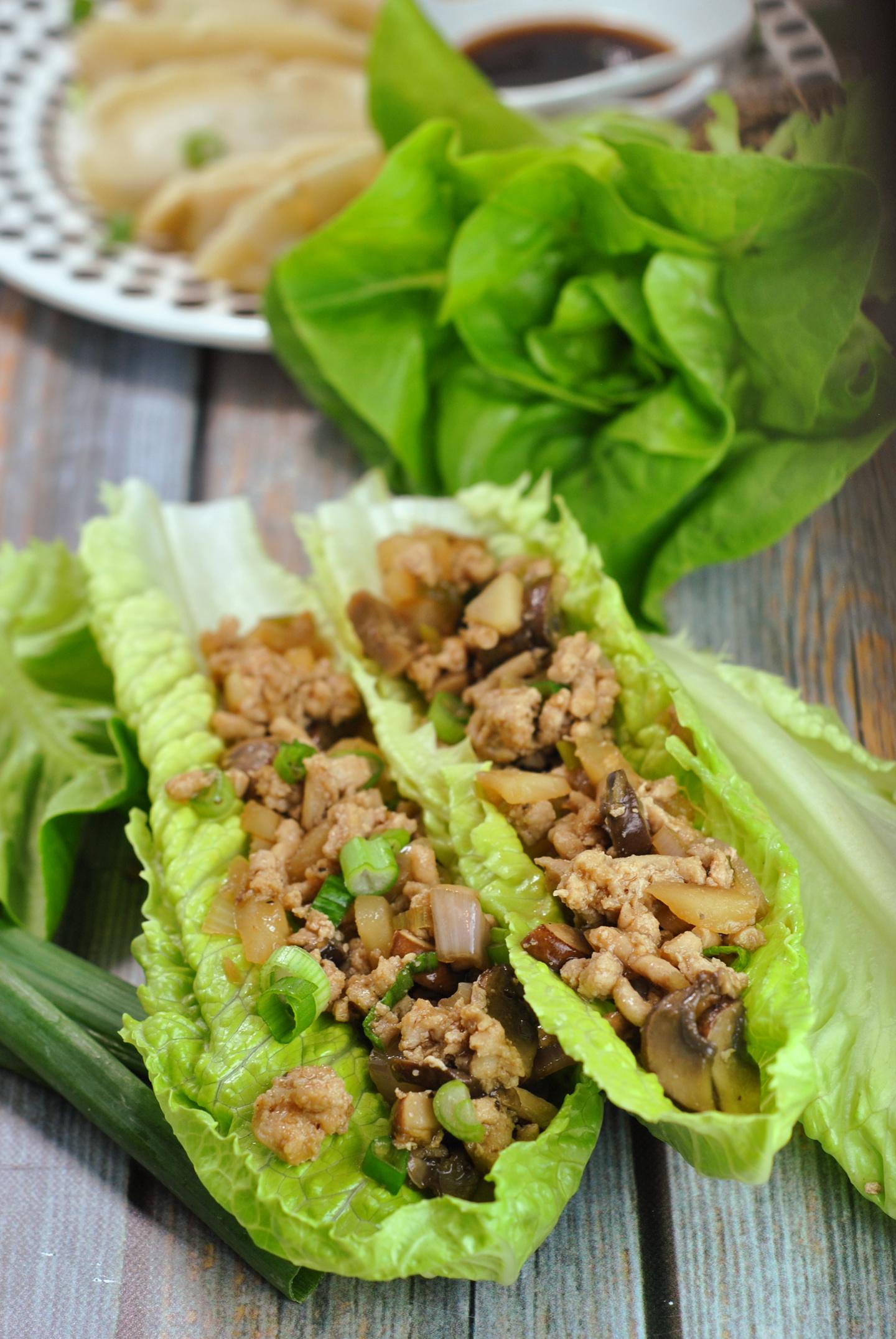P.F. Changs Chicken Lettuce Wraps via @preventionrd